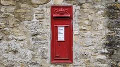 I love an old post box!