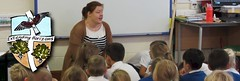 Ms Howard with Orange Class