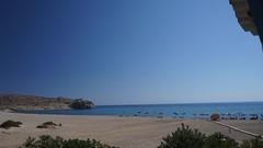 Prima zi de plaja la Pachia Ammos