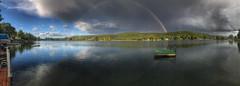 "Karen Lang - Double Rainbow on Little York Lake <a style=""margin-left:10px; font-size:0.8em;"" href=""http://www.flickr.com/photos/9089158@N06/37359535702/"" target=""_blank"">@flickr</a>"