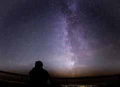 ich und milchstraße_