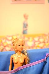 Barbie and Elsa