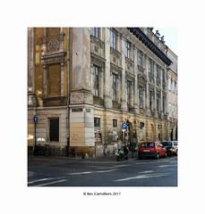 street corner, Krakow...