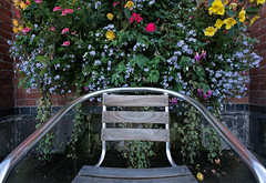 Floral seat