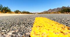Street in California, Western USA
