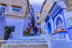 Chefchaouen the blue city - Marocco