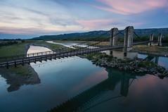 the old bridge, @Mallemort, France