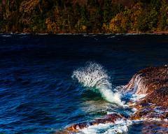 2017-10-18 365 Pretty Lake Superior Wave