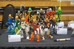 Bionicles at BrisBricks 2017
