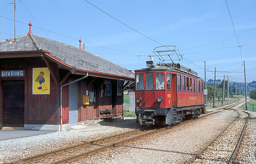 givrins nstcm nyonstcerguemorez schlieren 6 trein train... (Photo: Tim Boric on Flickr)
