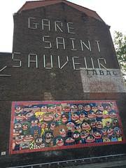 Stand - Fête de la Science - Gare Saint Sauveur, Lille, 2017.
