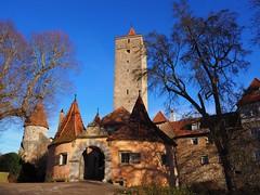 Rothenburg ob der Tauber Burgtor