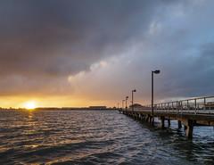 Del Norte Pier at Sunset