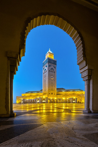 Hassan II Moschee - Casablanca