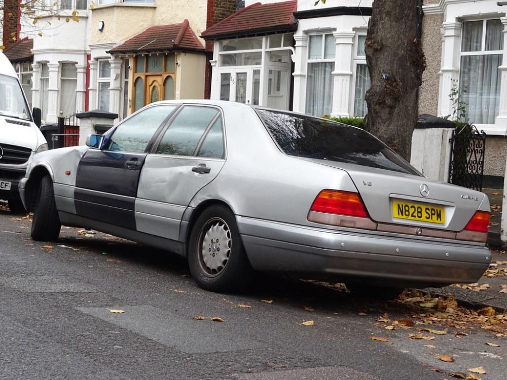 medium resolution of 1996 mercedes benz s 420 auto neil s classics tags vehicle 1996 mercedes benz