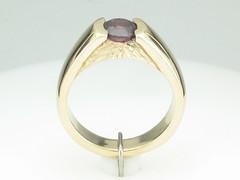 Rockies Collection 14KTYG Ring Pyrope Garnet 1.37 ct.