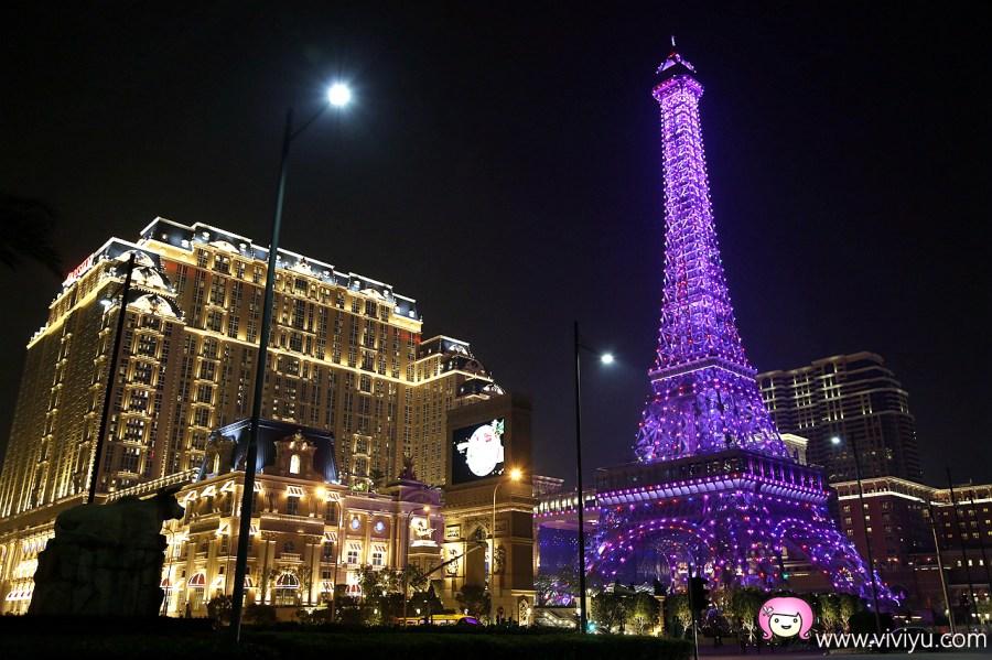[澳門美食]澳門巴黎人鐵塔.登上最高樓層瞭望台~享用美好的下午茶套餐 @VIVIYU小世界