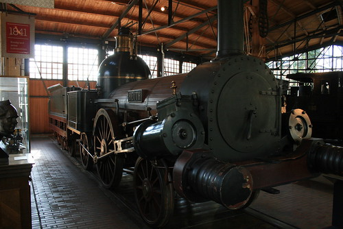 "Deutsches Technikmuseum Railway • <a style=""font-size:0.8em;"" href=""http://www.flickr.com/photos/160223425@N04/38239608314/"" target=""_blank"">View on Flickr</a>"