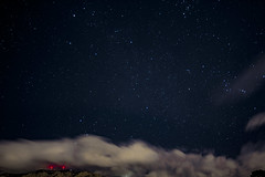Cotton Candy clouds over Albuquerque