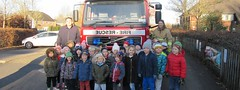 Rainbow Class and the Fire Engine