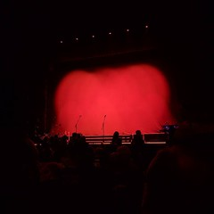 Row L is actually pretty near the front at the Hammersmith Odeon