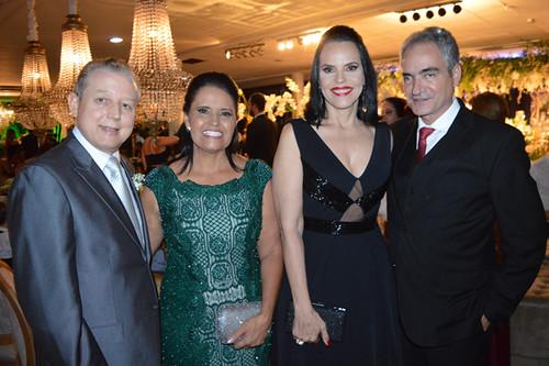 José Maria e Penha recebem Luízae Hercílio Diniz, da rede Coelho Diniz