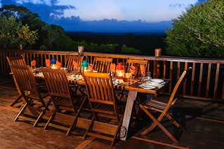 on the bar deck at Umkhumbi Lodge pic Roger de la Harpe