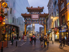 China-Town in London