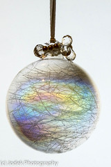 Iridescent Christmas Bauble...