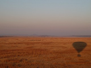 drifting shadow, Nambiti Reserve