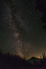 Milky Way at Image Lake camp