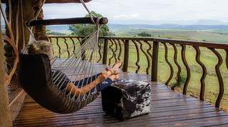 relax on the deck of the cave