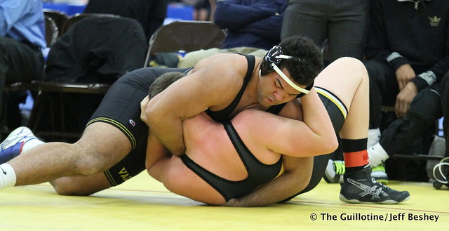 285 - Gable Steveson (Apple Valley) over Wylder Smith (Wasatch) Fall 0:25. 171229AJF0139
