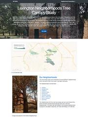 Lexington Neighborhoods Tree Canopy Study