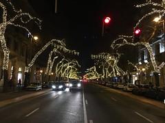 Christmas decoration - Andrássy út