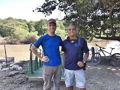Carlos Porras and I