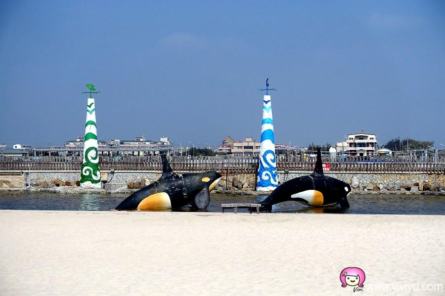 [嘉義旅遊]東石漁港.東石漁人碼頭~好拍好玩免費景點.戲水觀夕照的好地方 @VIVIYU小世界