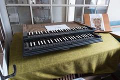 Op deze manualen heeft W.A. Mozart gespeeld. Thans te zien bij Steinmeyer Orgelbau te Oettingen.