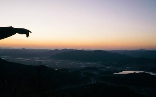 Climbing Geom-moo mountain for sunrise_MDY_180101_28