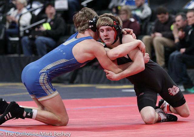 Quarterfinal - Nate Hart (Ottertail Central Bulldogs) 46-1 won by decision over Teddy Pesch (Minneota) 29-10 (Dec 3-2) - 180302cmk0028