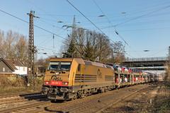 185 597 HSL Logistik. Oberhausen Osterfeld Süd