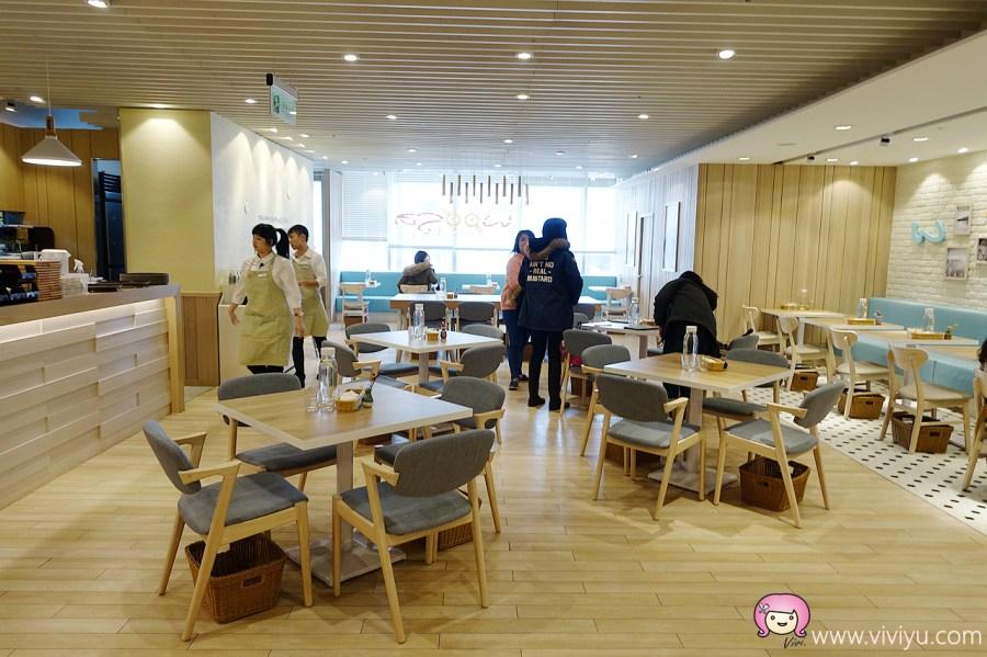 [桃園美食]Woosaパンケーキ 屋莎鬆餅屋.新光三越站前店~桃園火車站附近.每日限量『雲の鬆餅』 @VIVIYU小世界