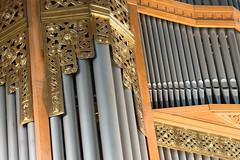 Het Steinmeyer-orgel van de Adventskerk te Alphen aan den Rijn.