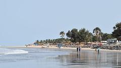Looking north between Kololi and Kotu Point, Gambia.