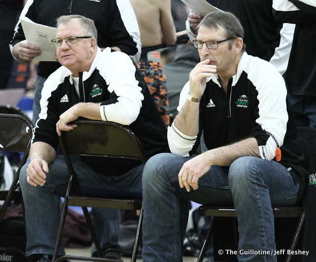 Froze Coaches Marty Aho and Clay Nagel. 171230AJF0020