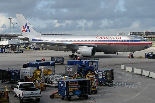 American Airlines Airbus A300 MIA