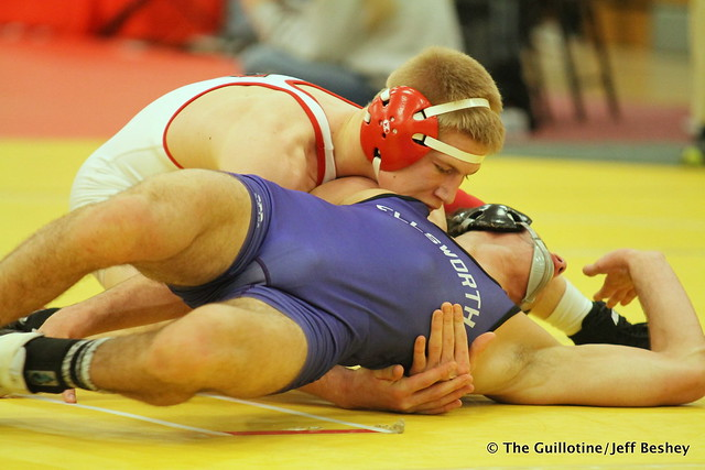 138 1st Place Match - Cael Carlson (Willmar) 12-0 won by decision over Sam Stuhl (Ellsworth) 13-1 (Dec 4-1) - 171216CJF0842