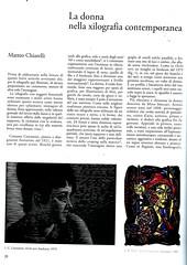 la donna nello xilografia contemporanea-01