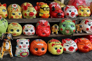 Piggy banks - for all that money from Chinese New Year