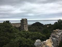 Ruins around Fitou